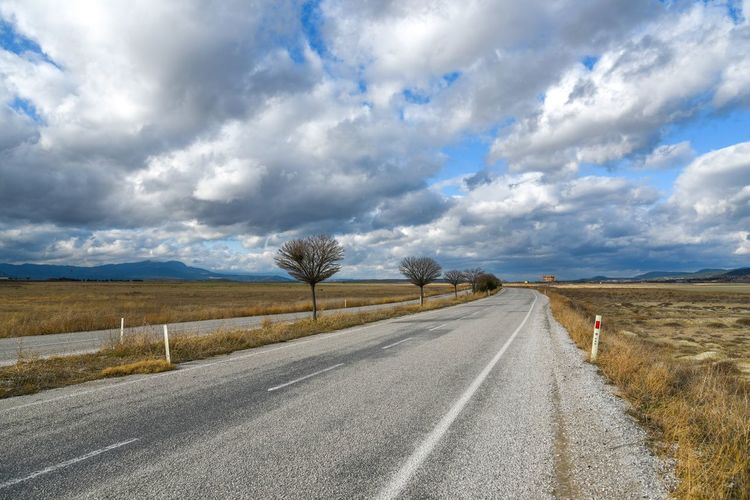 Road The Way Forward Cloud - Sky Sky Landscape Day Scenics No People Tranquility Beauty In Nature