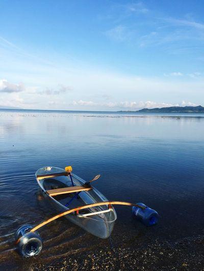 Water Nautical Vessel Transportation Sky Sea Scenics - Nature Nature