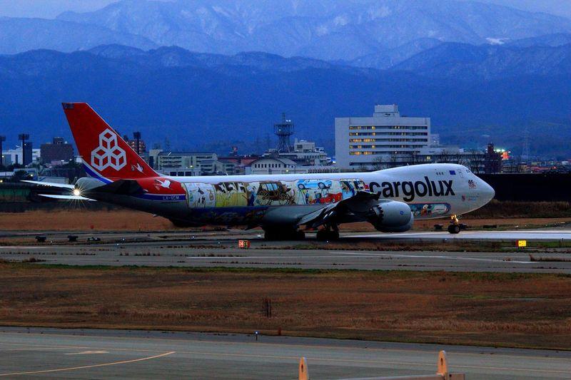 LX-VCM LX-VCM Komatsu Airport Komatsu Airplane Cargolux