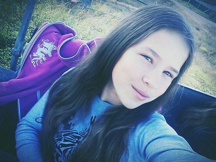 Сидим с Лизой на подъемнике❤️. дача стреково Степаново