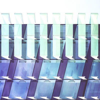 Mutual support | Apoyo mutuo Architecture Glass Awesome Architecture Exploring