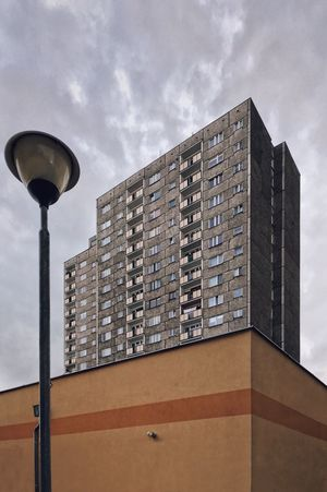 Architecture Building Exterior Block Modernism Plattenbau Minimal Rough Texture Sky And Clouds The Secret Spaces The Architect - 2017 EyeEm Awards