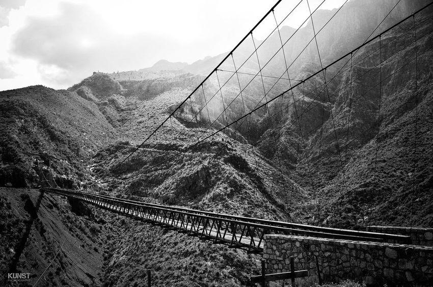 Puente de Ojuela Durango Turismo TurismoDgo Mapimí Puente Puente Colgante Bnw Bridge
