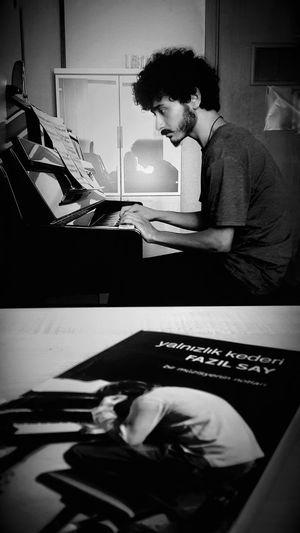 Fazıl Say... Beatiful Music Musician Musicianlife Conservatory Of Music Piano Piano Lover Fazil Say Fazılsay Blackandwhite Friends Bestfriend Turkey