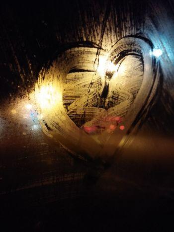 Love Window Night Lighs