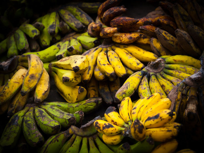 Close-up of fruits for sale at market stall