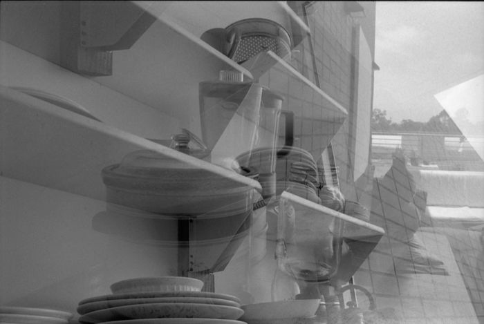 No People Indoors  Architecture Close-up Day Double Exposure Black And White Film Photography