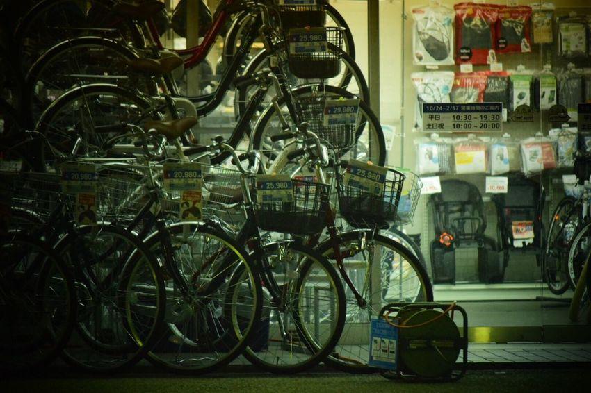 日常 生きる Bicycle For Sale Store Bicycle Shop Streetphotography