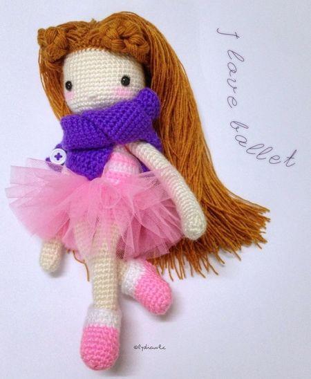 My Crochet Doll (no.3) @ I love Ballet Crochet Crocheting My Crochet Creations My Crochet Doll