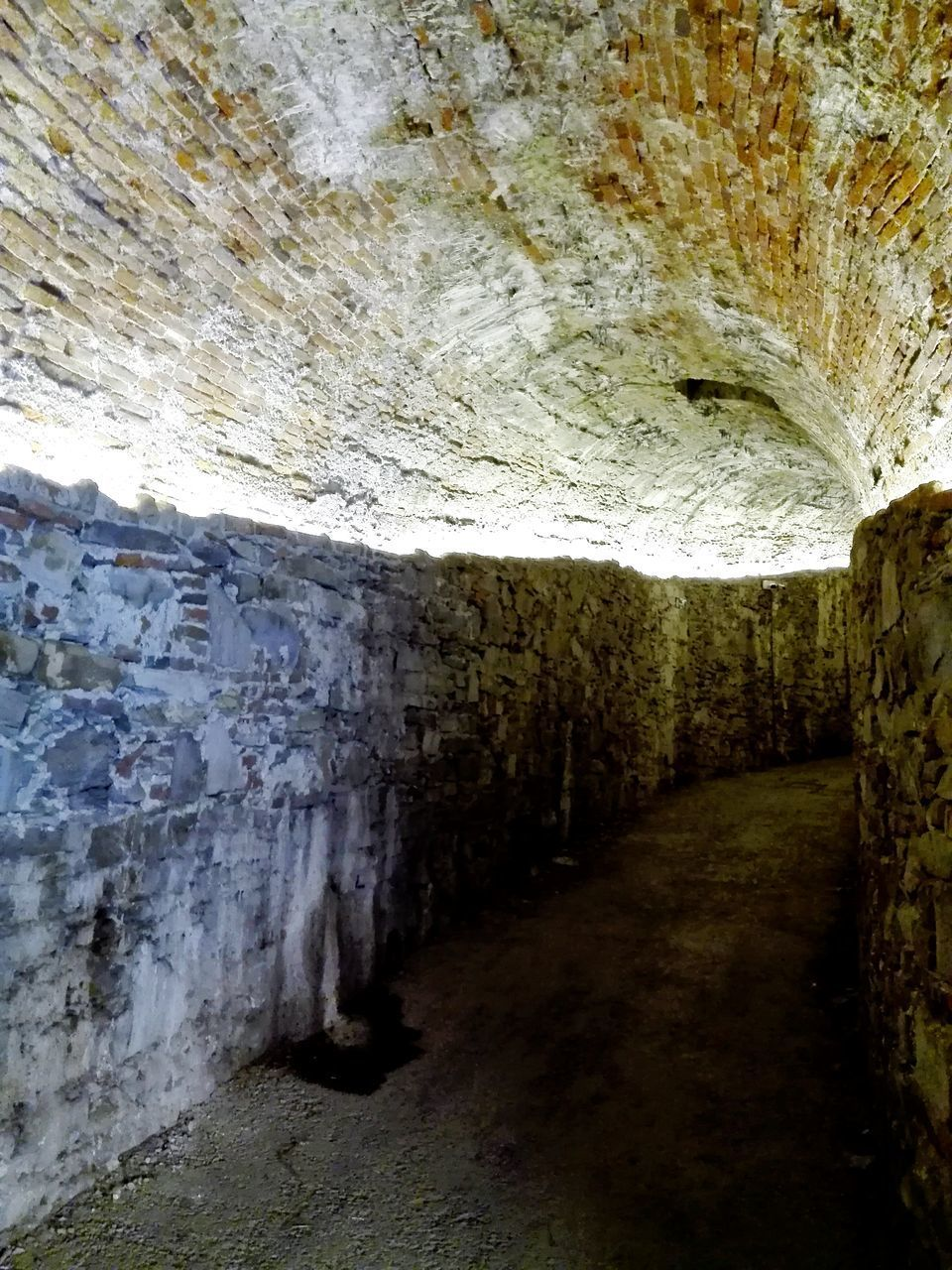 indoors, tunnel, cave, rock - object, underground, no people, day, architecture, nature, water