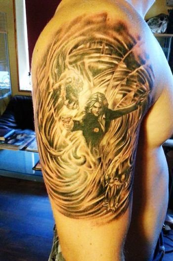 Tattoo The Darkness Jackie Estacado People Art Tattoos