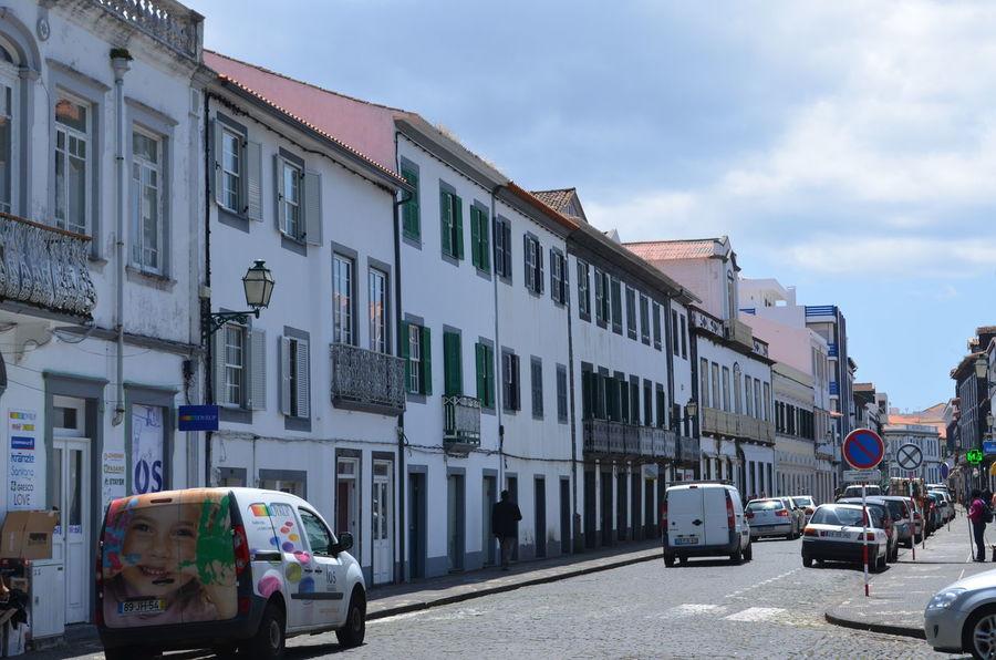 Azores Açores Faial Faial Island Horta Narrow Streets