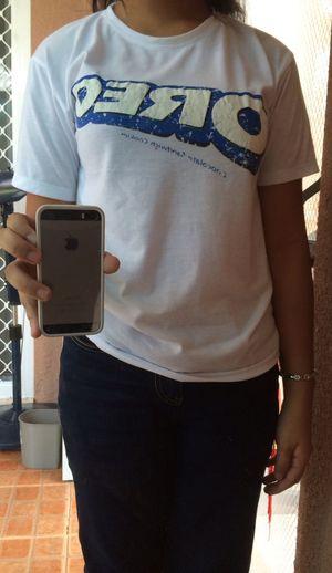 Me wearing my oreo shirt :3 Taking Photos Oreo Shirt Oreo T-shirt