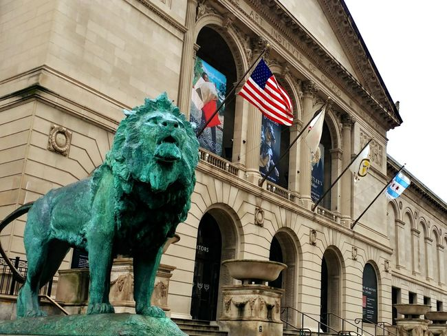Statue History Animal Representation Architecture Sculpture Travel Destinations Building Exterior Built Structure Low Angle View Outdoors Day City Lion EyeEmNewHere