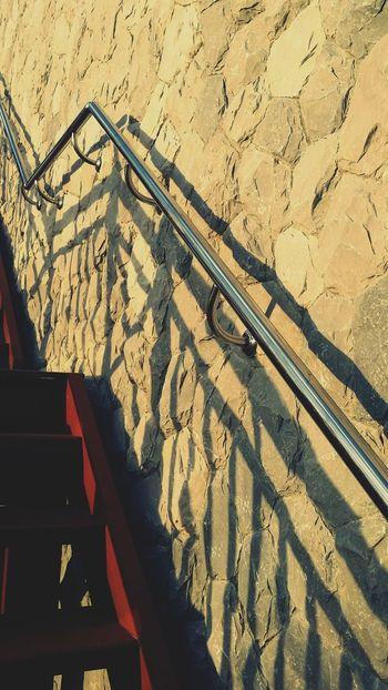 Step Into The Light Step By Step Myeyemsnap Mobile Photography Stairways Stairs & Shadows Saraburi Thailand