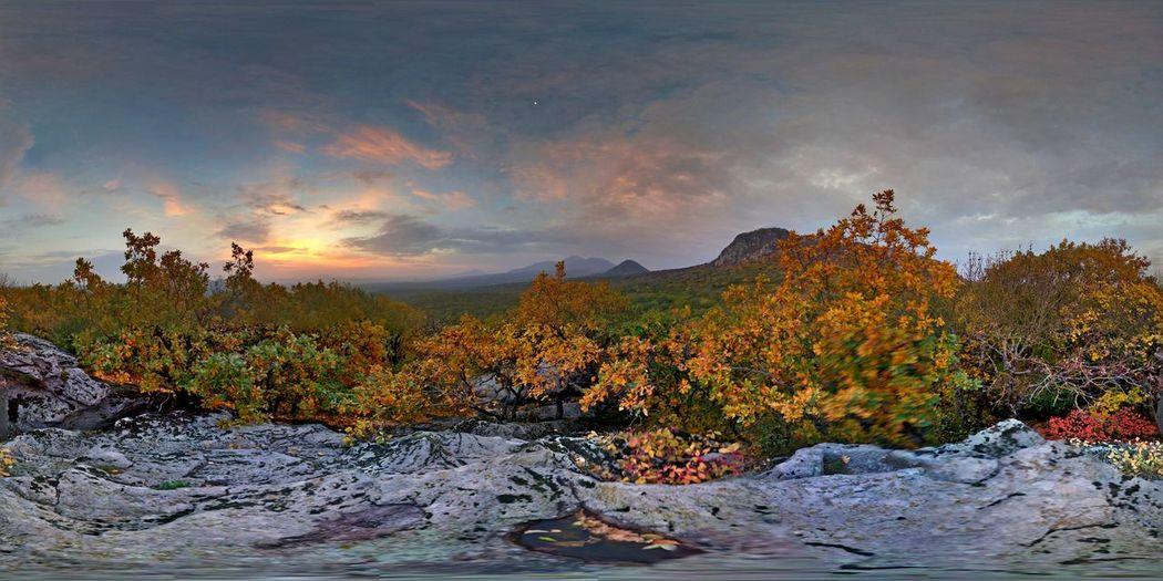 Nature Mountains Autumn Colors Photo Sphere