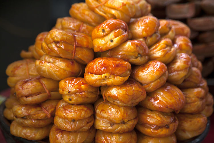 Close-Up Of Jangajji For Sale At Market