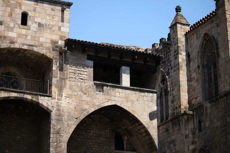 Barcelona June 2017 Ancient Arch Architecture Barrio Gótico Building Exterior Built Structure Day History No People Outdoors