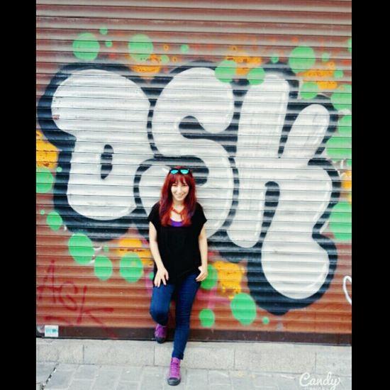 Grafitti Art. Grafitti Grafiti Color Pretty Enjoying Life Smile Photography Beauty