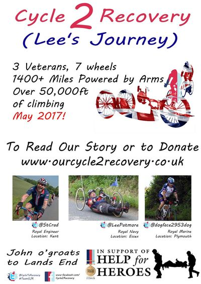 TeamSJR Helpinghand Help For Heroes Band of Brothers JoGLE