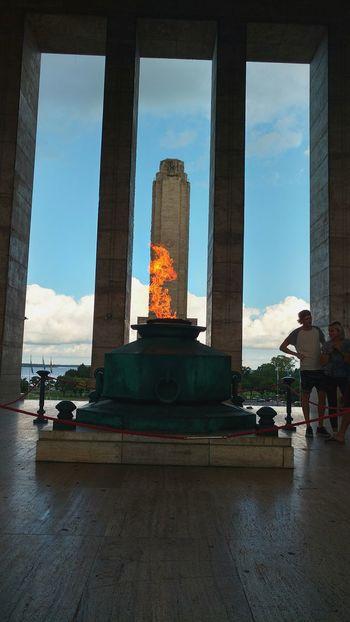 Fuego Patrio RosarioCity Rosario, Argentina Argentina For Tourists Monumento Nacional A La Bandera Rosario, Santa Fe Argentina💘