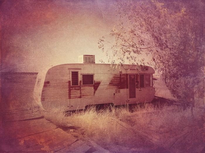 """""""Someone's Castle"""" One persons disparity is another persons harmony. Trailer Home Trailer Old Trailer Trailerparkpart Travel Trailer"""