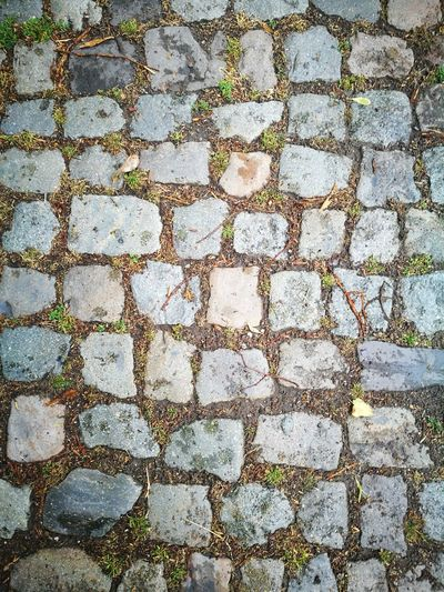 Cobblestone Textured  Pattern Backgrounds Close-up No People Texture Textures And Surfaces Material Floor Tile