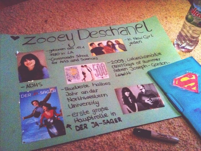 Ready for today ✌ Zooey Deschanel Love