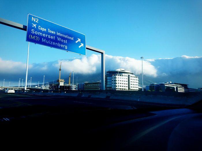 Cape Town Freeway N1 Freeway Sky Road Airport