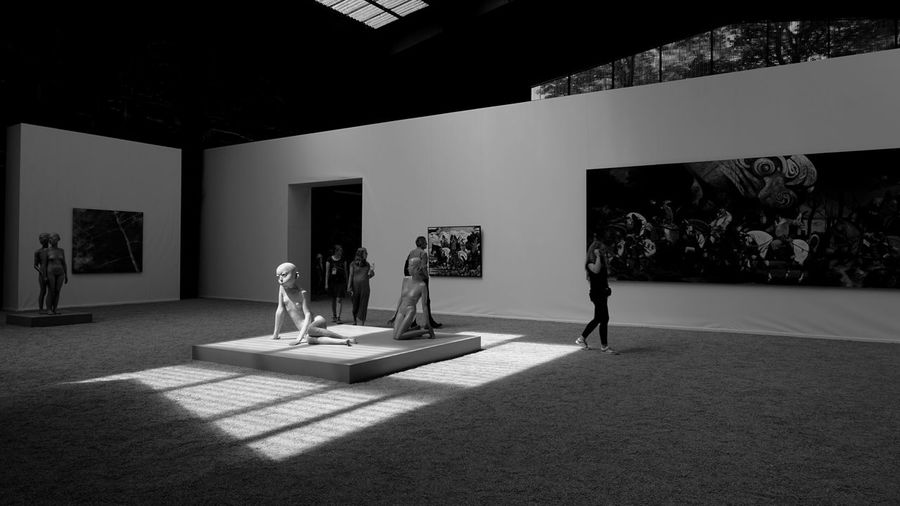EyeEm Gallery EyeEm Selects EyeEm Best Shots Architecture Built Structure Indoors  No People Art And Craft Shadow Representation Flooring Human Representation Sunlight Museum Day Domestic Room Nature Statue Wall - Building Feature Sculpture Plant Luxury Creativity