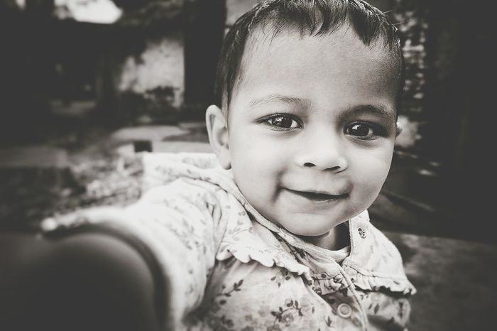 Adorable Aahana Portrait Childhood Looking At Camera One Person Baby Smiling People Happiness Headshot Child Close-up Babies Only Cheerful Real People Outdoors Human Body Part Day