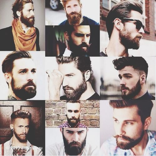 OH MYYYYYYYY 😍👄 Beards Are My Weakness Ohlala