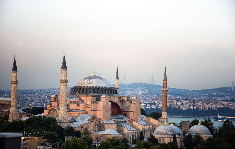 Architecture Architecture_collection Hagia Sophia Travel Photography Architecture Building Building Exterior Built Structure City Cityscape Day Dome No People Outdoors Religion Sky Travel Destinations Water