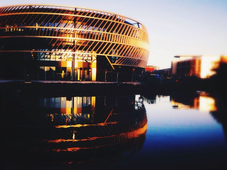 Technology Entrepreneurship Centre (TEC), University of Nottingham @ Jubilee Campus First Eyeem Photo University Of Nottingham Nottingham Reflection Built Structure