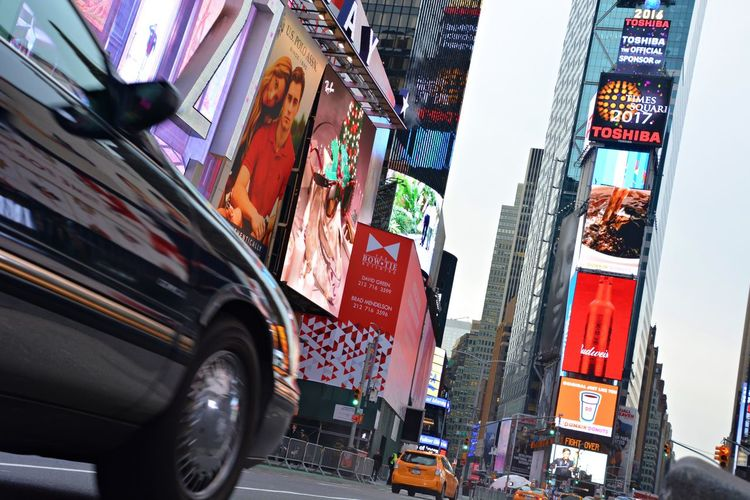 Travel Photography Nikon Travel Destinations Famous Place Streetphotography USA New York New York City Times Square NYC TimesSquare Car City City Life Outdoors Yellow Taxi Mobility In Mega Cities