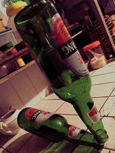 Balancing Art Bintang Beer Two Bottles Of Beer Indonesia_photography EyeEm Indonesia Mobile Photography Just For Fun