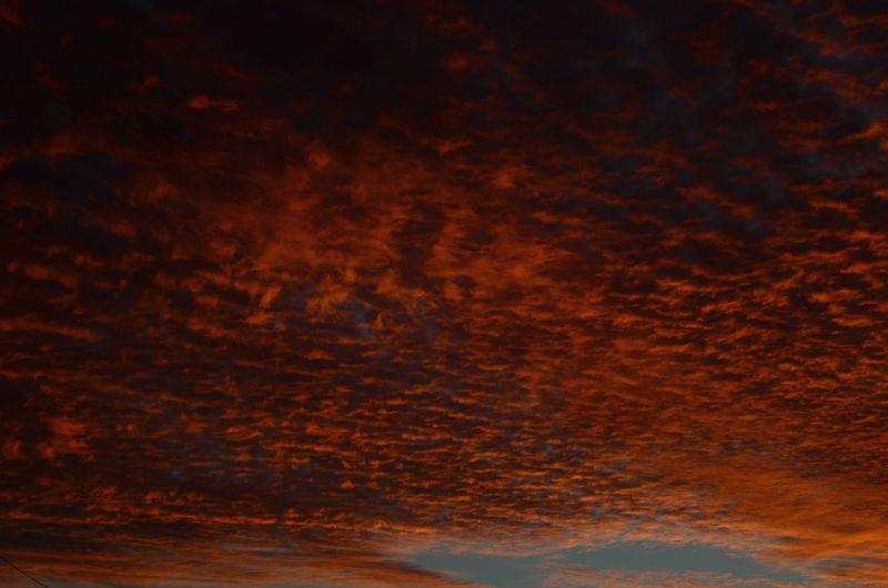 Close-up of sky at night