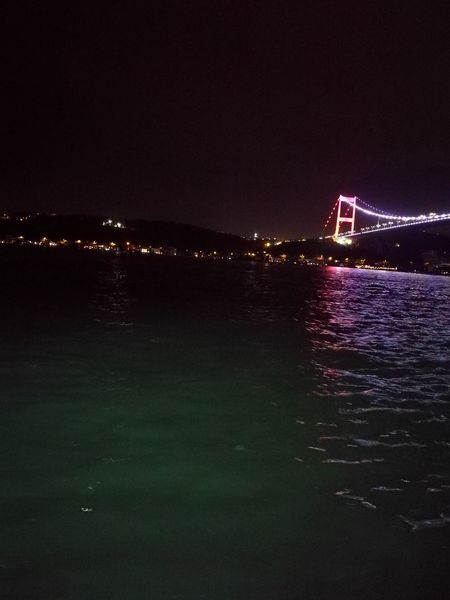 Istanbul City Sea Nightlife Water Arts Culture And Entertainment Sky Architecture