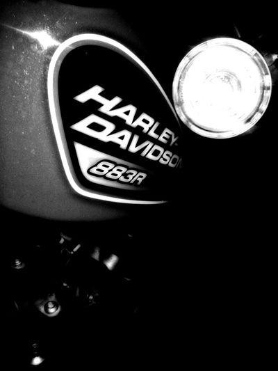 Bnw_worldwide EyeEm Best Shots - Black + White Harleydavidson Motorcycles