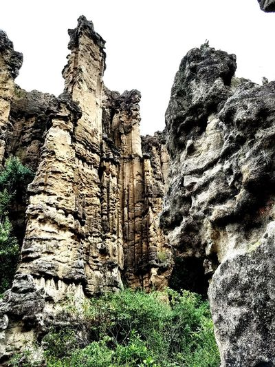 dramatic rock erosion Nature Outdoor Million Of Years Cathedral Erosion Of Earth Rock Formation Colombia