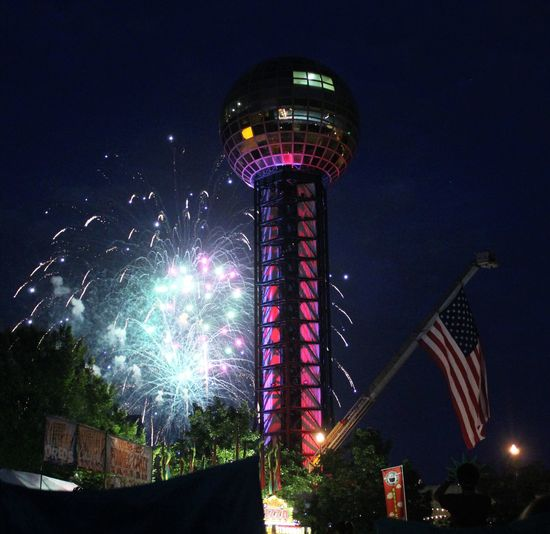 July4th 4thjuly 4thofjuly IndependenceDayPhotos Independenceday July4 Fireworks! Independence Day Firework Fireworks 4th Of July Knoxville Tennessee American Flag
