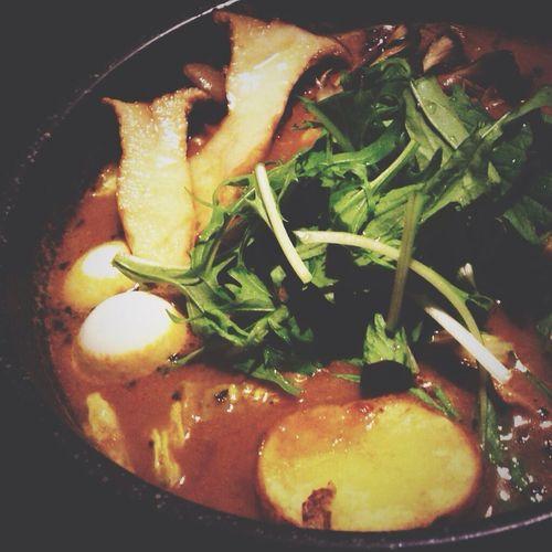 スープカレー美味しい♡ Lunch Time! Fishcurryandrice
