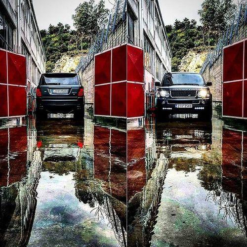 Reflections. 💎 Rangeroversport Glohh RainyDay Mirror Reflections