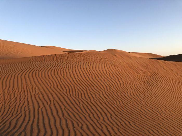 Desert in the beautiful oman
