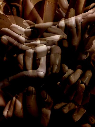 Multiexposure  Shapes And Forms Hands At Work Human Hand Hand Human Body Part Indoors  Close-up Full Frame Healthcare And Medicine People Large Group Of Objects Body Part Abundance Human Limb Backgrounds Focus On Foreground Celebration