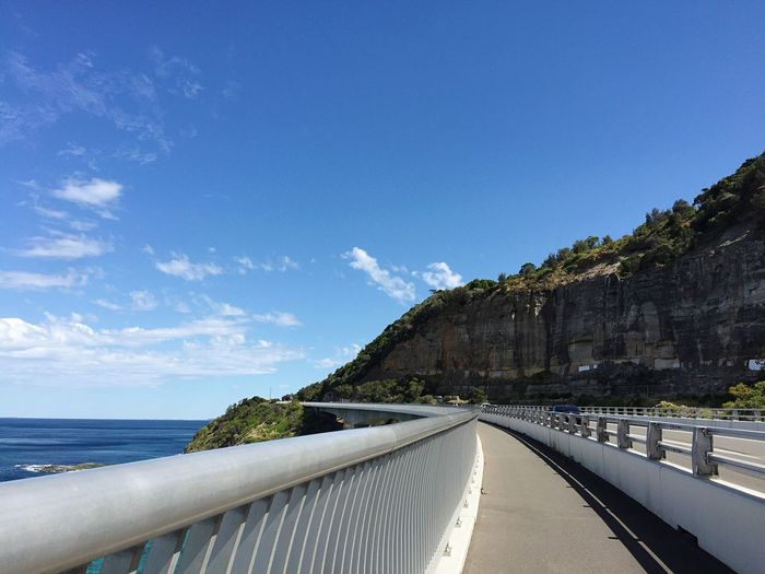 Holiday Transportation Road Blue Sky Day Nature No People Scenics Sea The Way Forward Beauty In Nature Tree Water Outdoors Travel Travel Photography Bridge Architecture