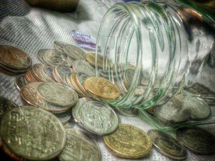 Savingmoney Coin Savingbox Money Moneybox Counting Money