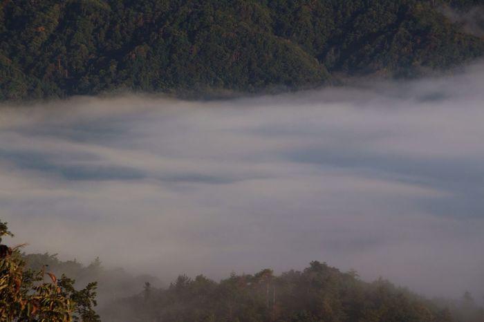雲海 山 空 雲