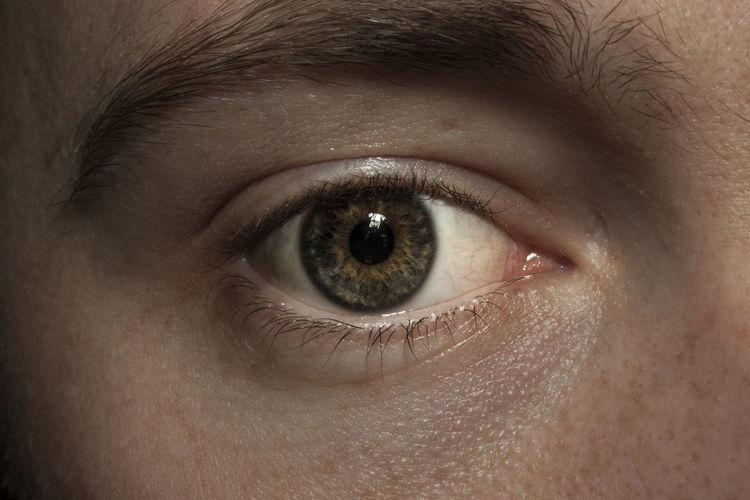 Eye view myself. Adult Close-up Eyeball Eyebrow Eyelash Eyesight Flash Flash Photography Human Eye Human Skin Iris - Eye Looking At Camera Looking At Camera New Skills One Person People Portrait Potrait Real People Self Portrait Selfie Sensory Perception Vision Young Adult