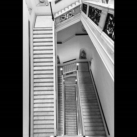 Shapes Steps Stairs White Rome Myrome Mono Blackandwhite Lifeasiseeit Johnnelson Geometric Lines